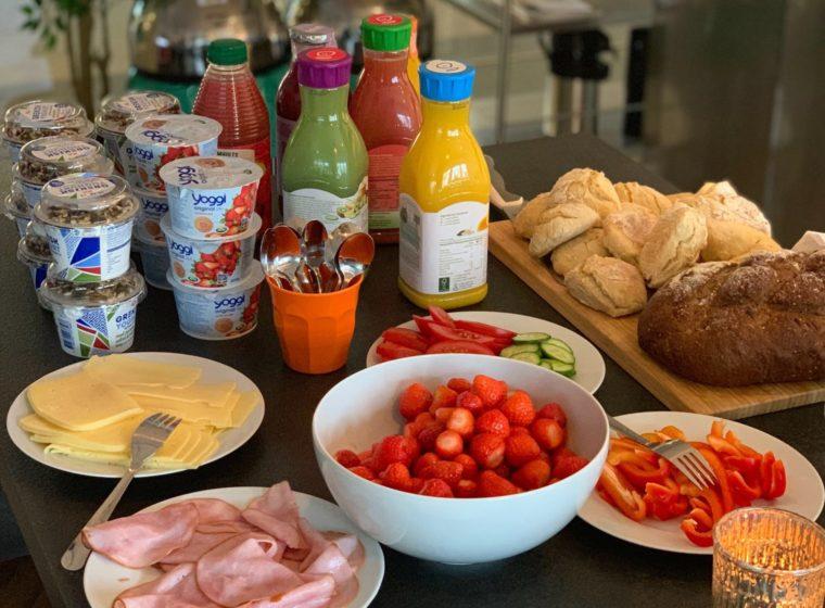 Frukost på Masarin
